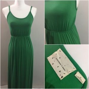 Coincidence & Chance Green Maxi Dress in Size M